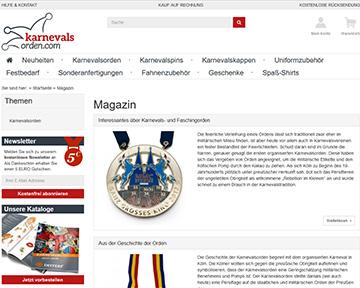 Das karnevalsorden.com-Magazin