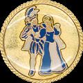 Auflage Prinzenpaar Blau