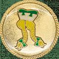 Auflage Jungfrau Grün