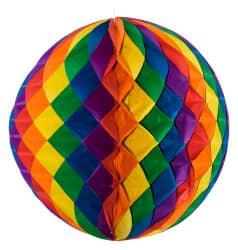 Riesen-Wabenball Regenbogen