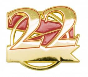Jubiläumspin - 22 Jahre