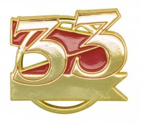 Jubiläumspin - 33 Jahre
