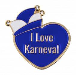 """Herzpin """"I Love Karneval"""""""