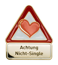 Achtung Nicht-Single - Pin