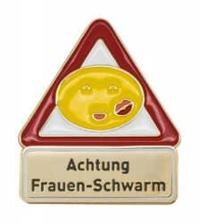Achtung Frauenschwarm - Pin