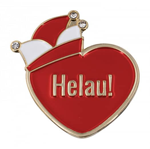 "Herzpin ""Helau!"""