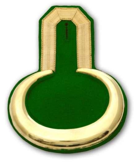 Epauletten gold (ein Paar) gold-grün