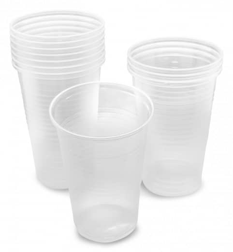 Trinkbecher, transparent 0,2l 100 Stk.