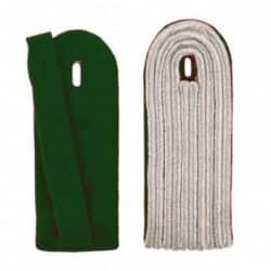 5-streifige Schulterstücke in silber