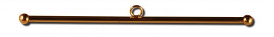 Querstange Messing 12mm 90cm | Messing poliert