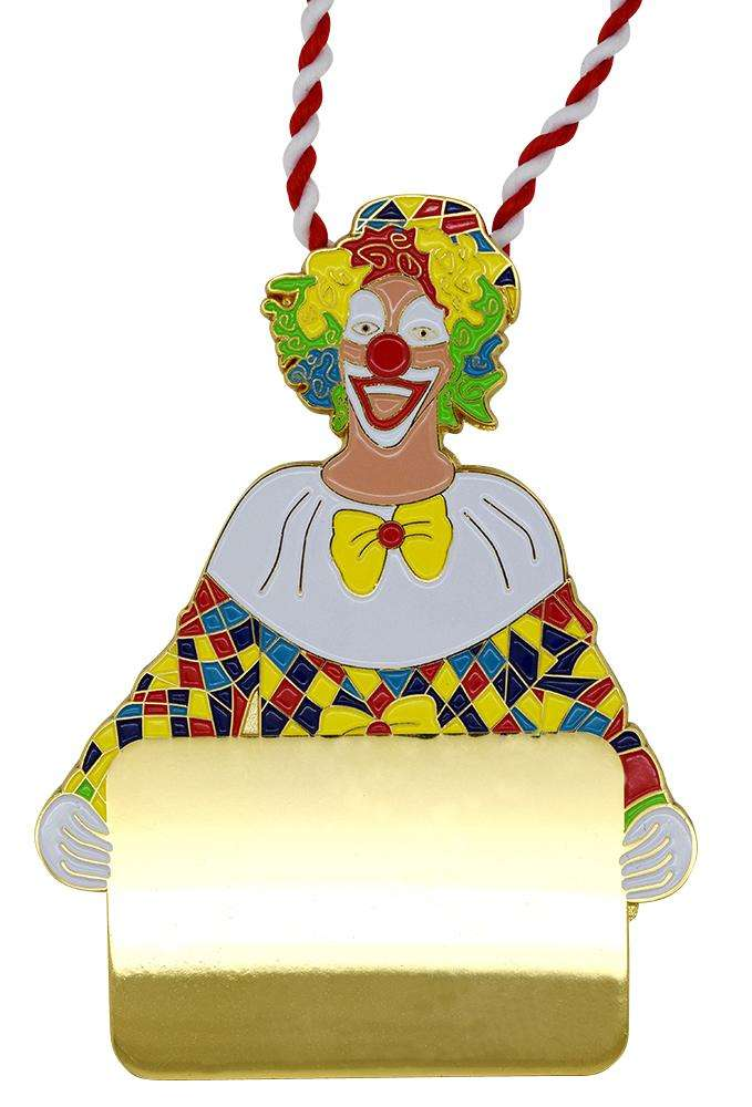 "Karnevalsorden - Clown ""David"""