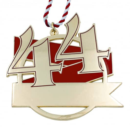 Jubiläumsorden - 44 Jahre rot