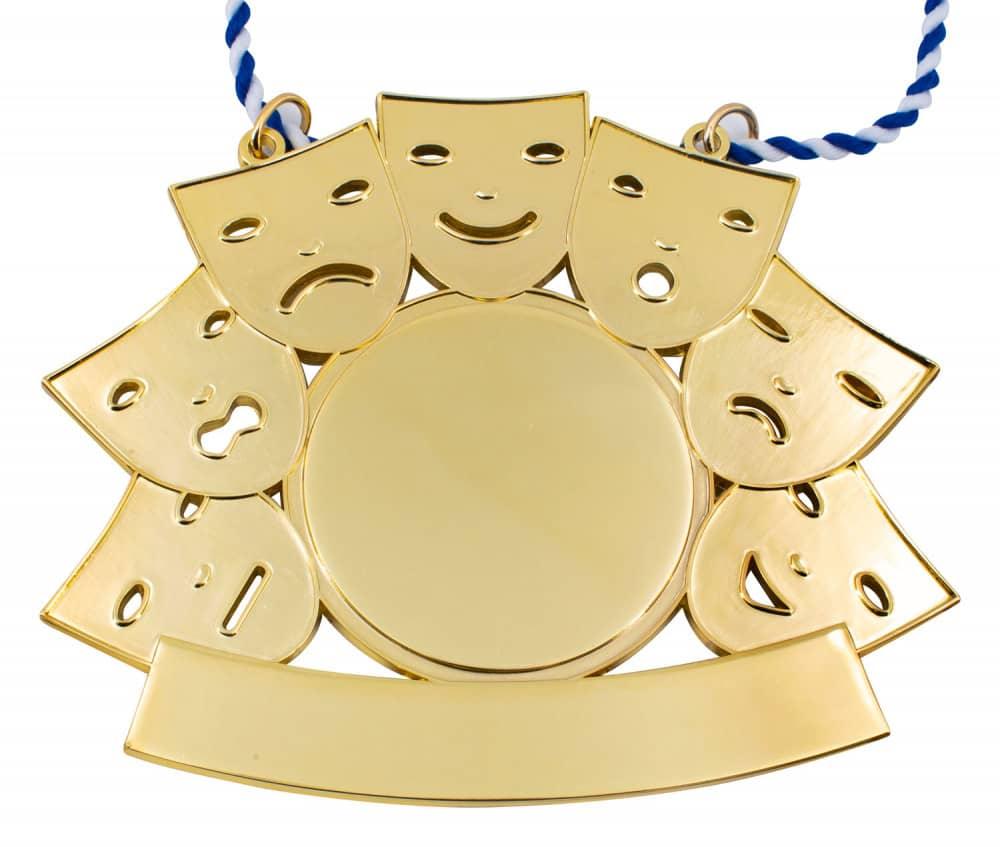 "Karnevalsorden ""Maskenball"" gold"
