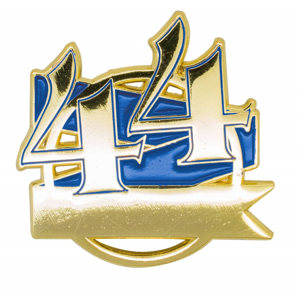 Jubiläumspin - 44 Jahre blau