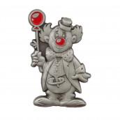 Clown mit Ballon 3D geprägt