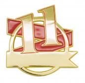 Jubiläumspin - 11 Jahre rot