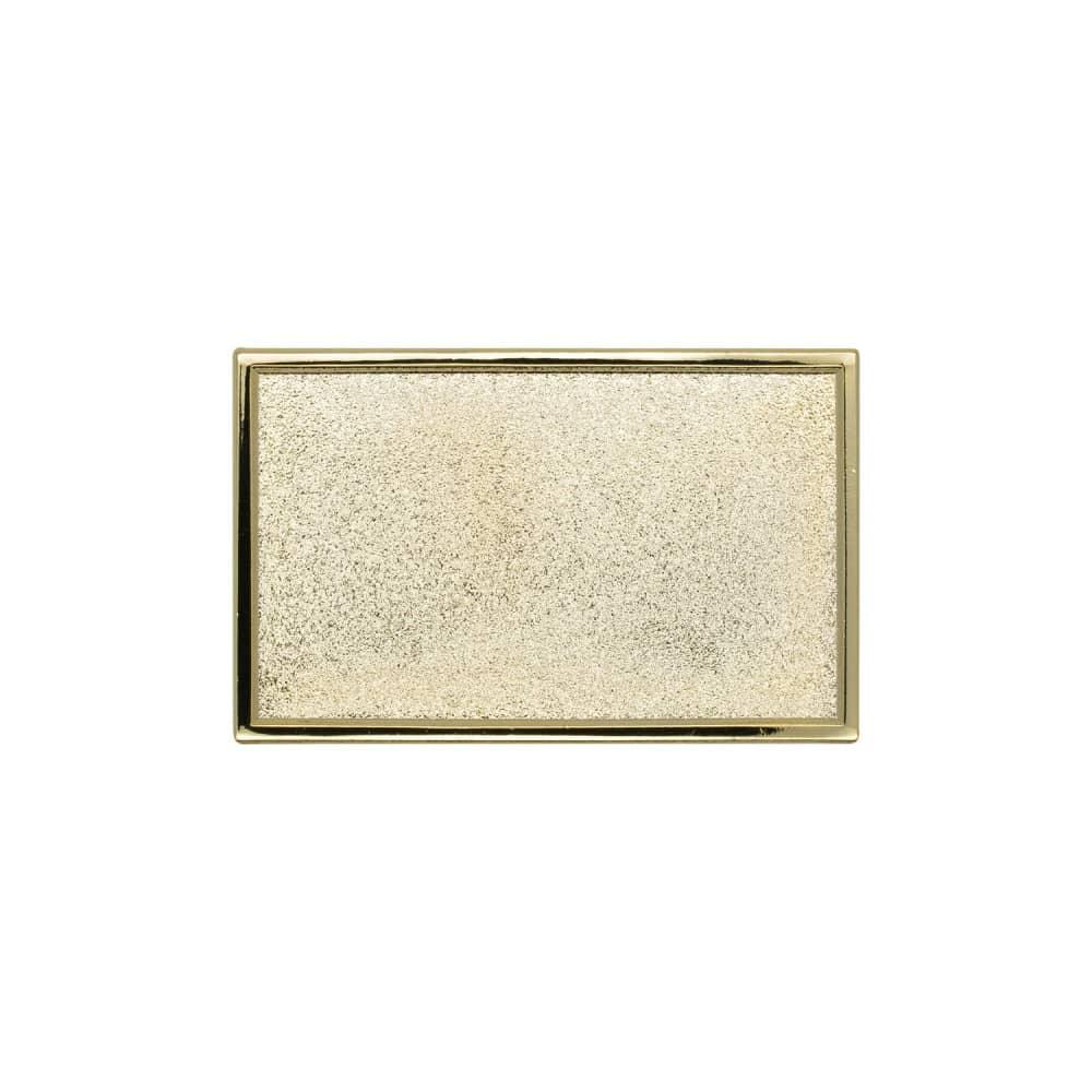 Expresspin rechteckig 40 x 25mm gold