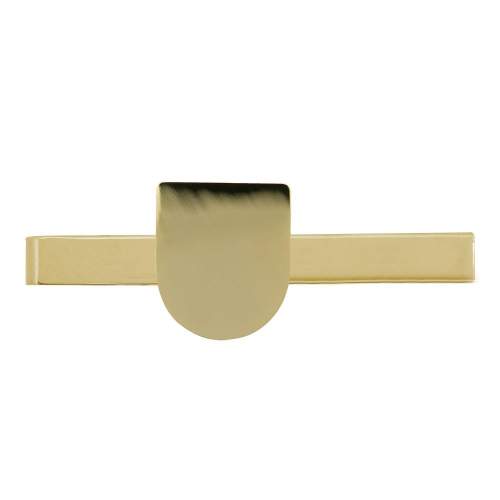 Krawattenklammer mit Wappen gold