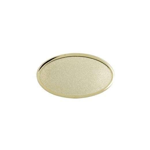 Expresspin oval 35mm x 20mm- selbst gestalten gold