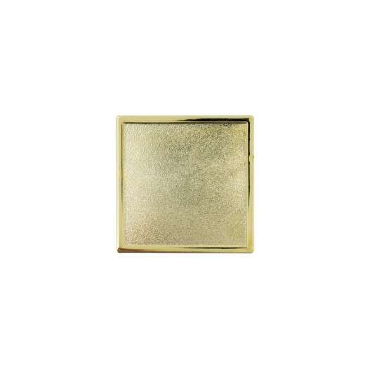 Expresspin quadratisch - selbst gestalten gold