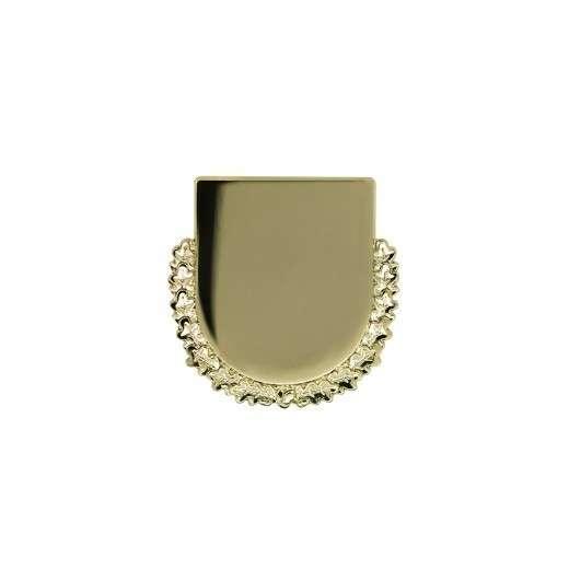 Expresspin Wappen mit Kranz - selbst gestalten gold