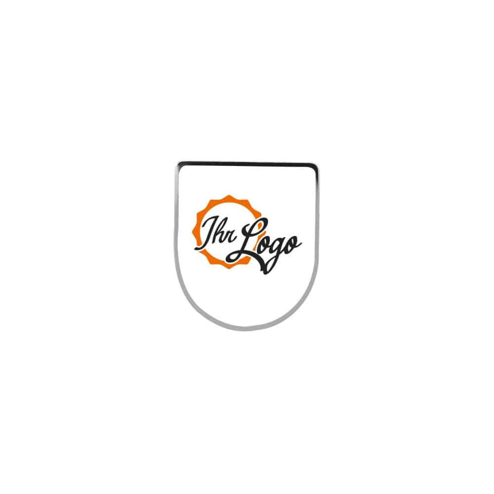 Expresspin Wappen - selbst gestaltet silber