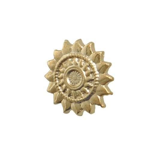 """Pins 3D-Relief geprägt """"Sonne"""""""