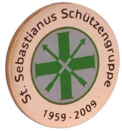 "Pins Siebdruck ""Sebastianus"""