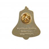 """Pins 3D-Relief geprägt """"Die Glocke"""""""