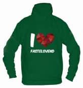 "Hoodie ""I Love Fastelovend"" - Herren"