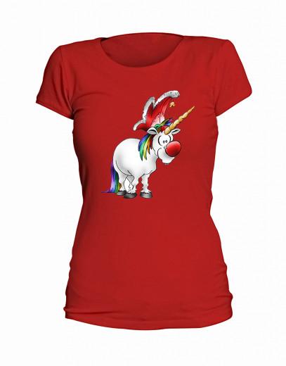 """T-Shirt """"Jeckes Einhorn"""" - Damen"""