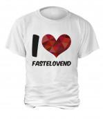 """T-Shirt """"I Love Fastelovend"""" - Herren"""