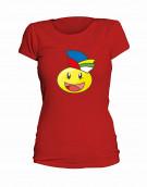 """T-Shirt Smilie """"Der Jecke"""" - Damen"""